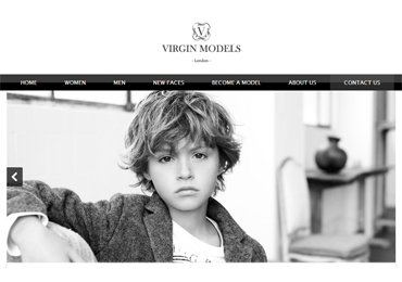 Website for model agency
